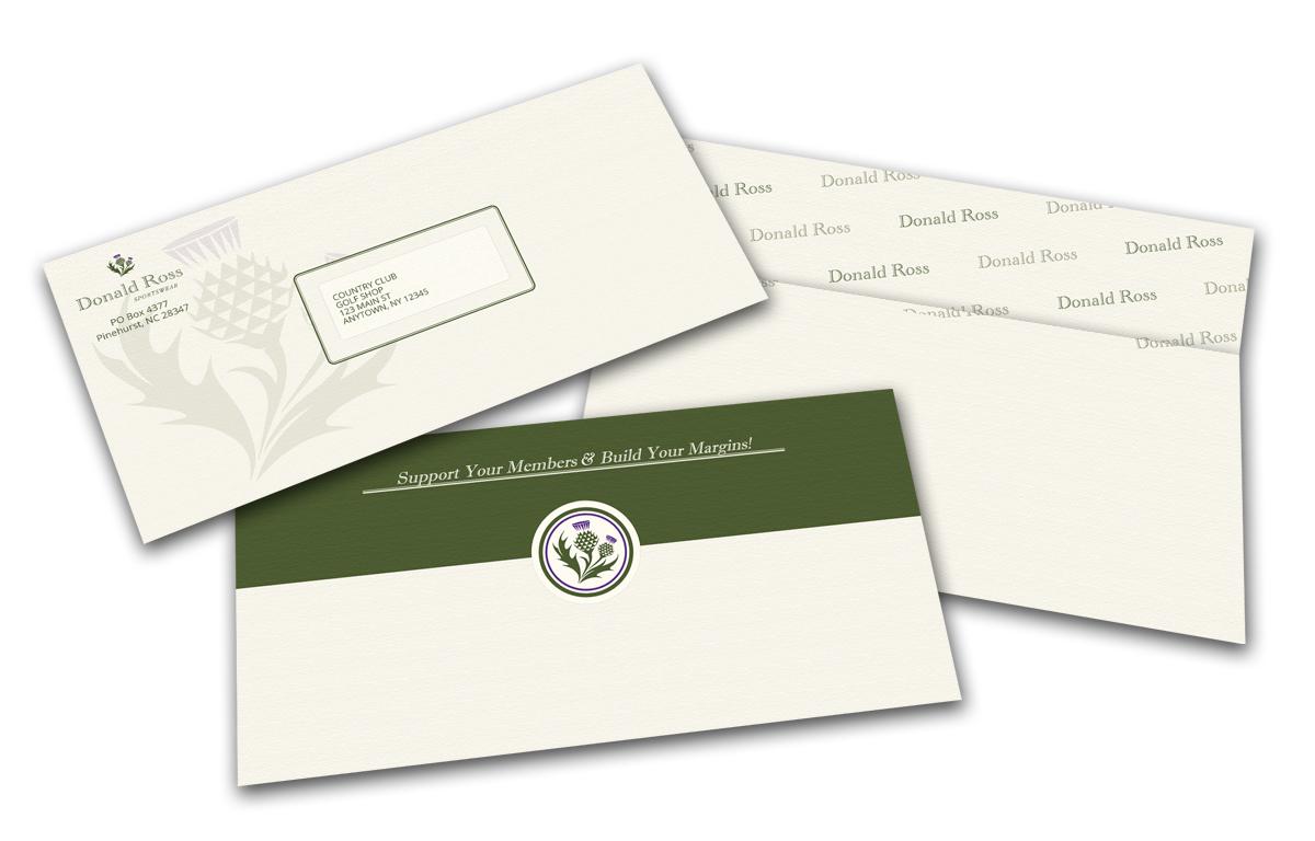 Donald Ross envelope