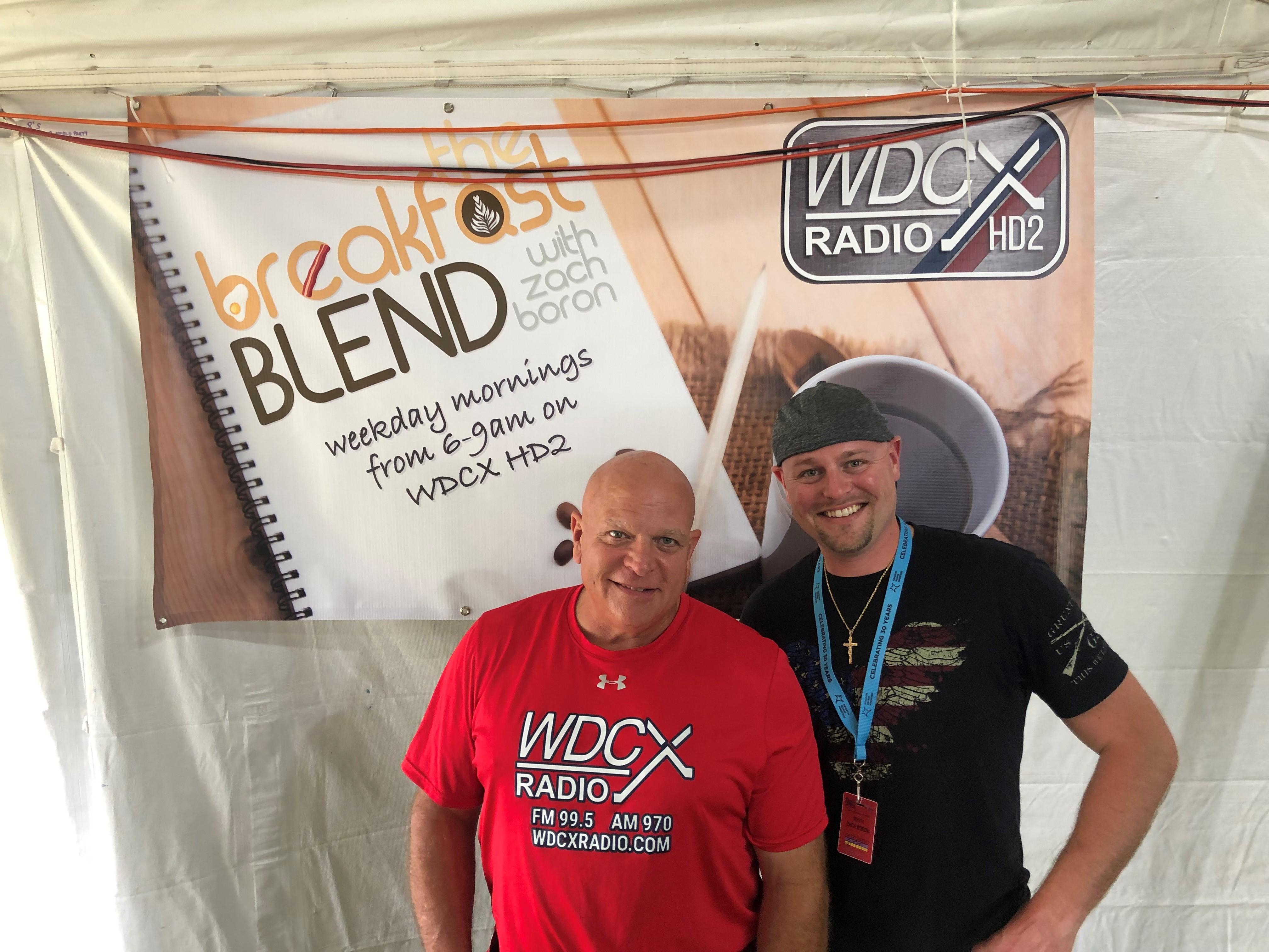 WDCX Banner