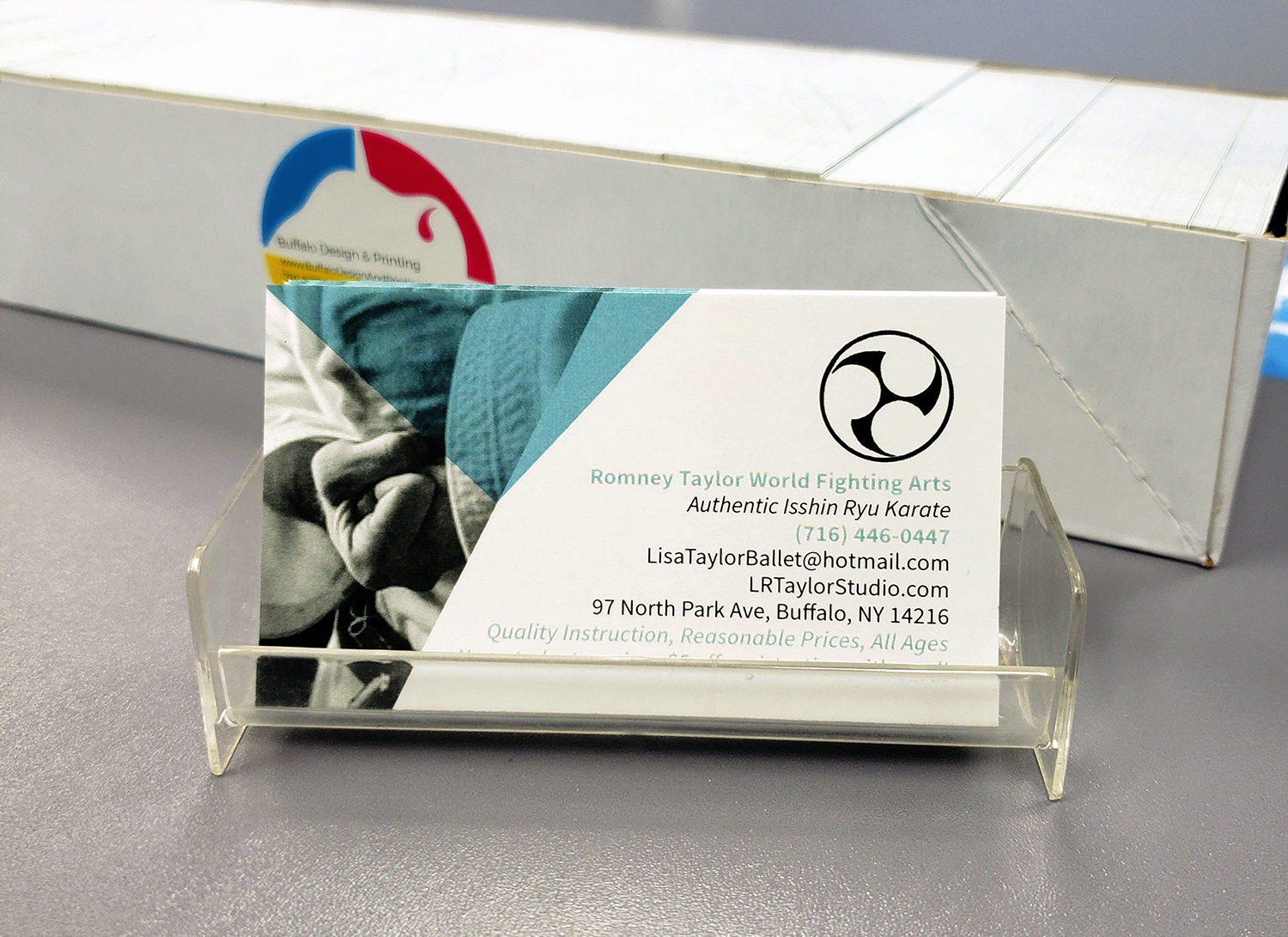 Lisa Taylor Business Card