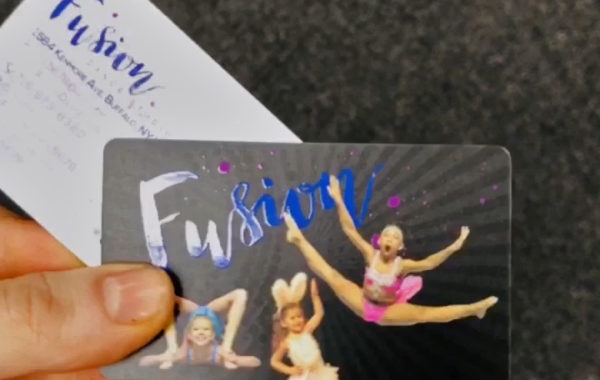 Fusion Dance Studio Business Card