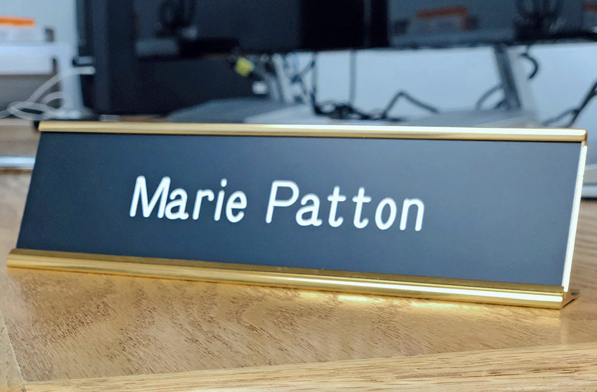 Active Work Force Name Plate