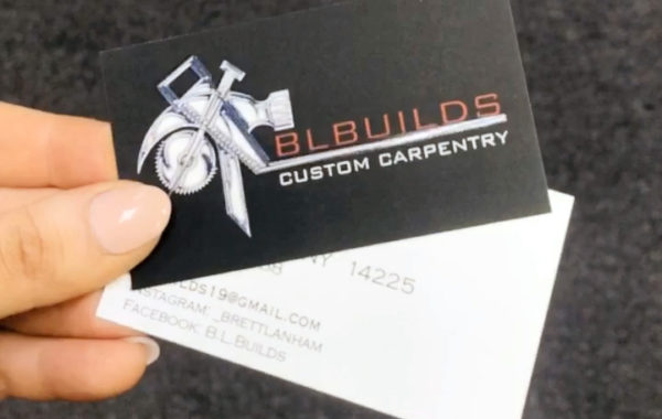 BL Builds Business Card