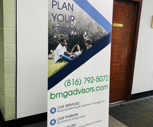 BMG Advisors Pull up Banner