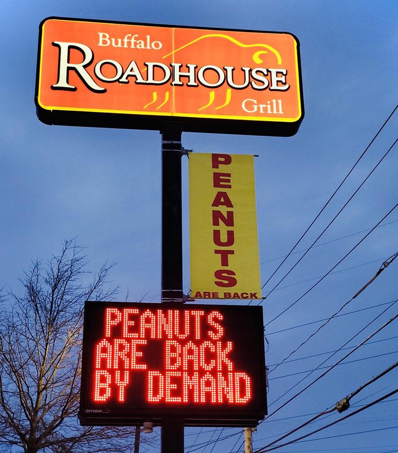 Buffalo Roadhouse Grill Vinyl Banner