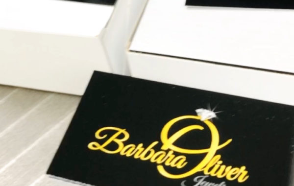 Barbara Oliver Jewelry Business Card