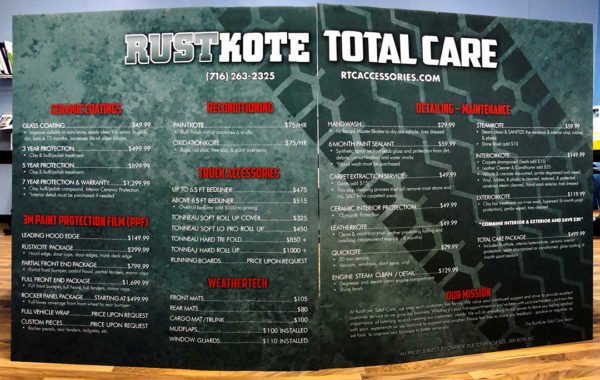 Rust Kote Menu