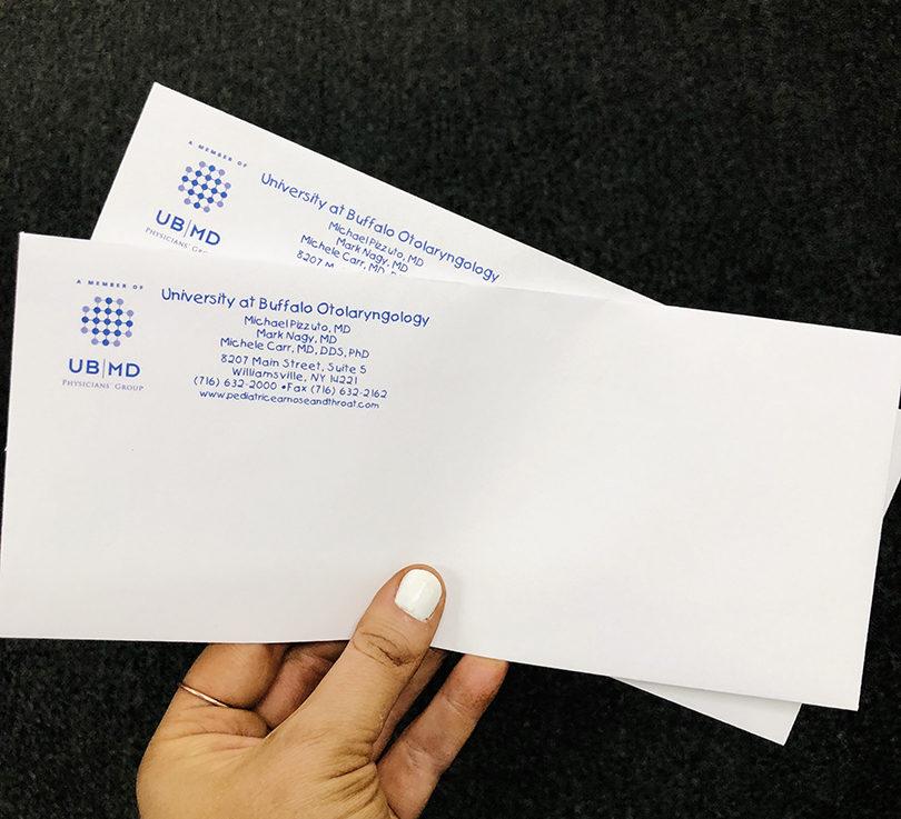 UB Otolaryngology Envelope