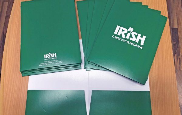Irish Carbonic & Propane Presentation Folders