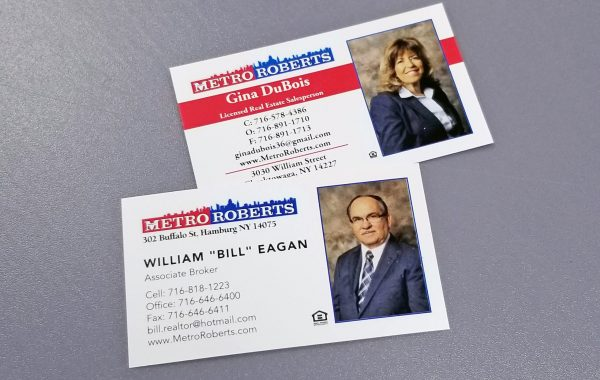 Metro Roberts Business Cards