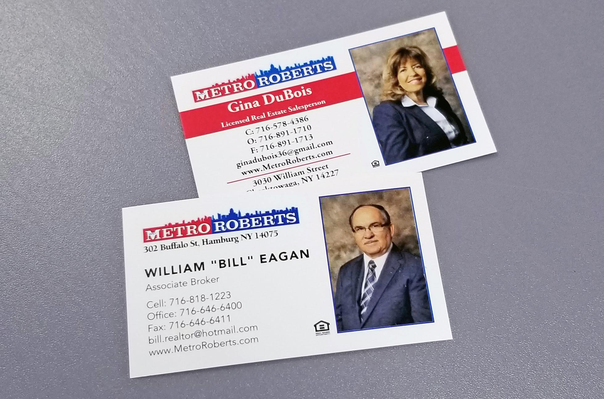 Metro Roberts Business Cards