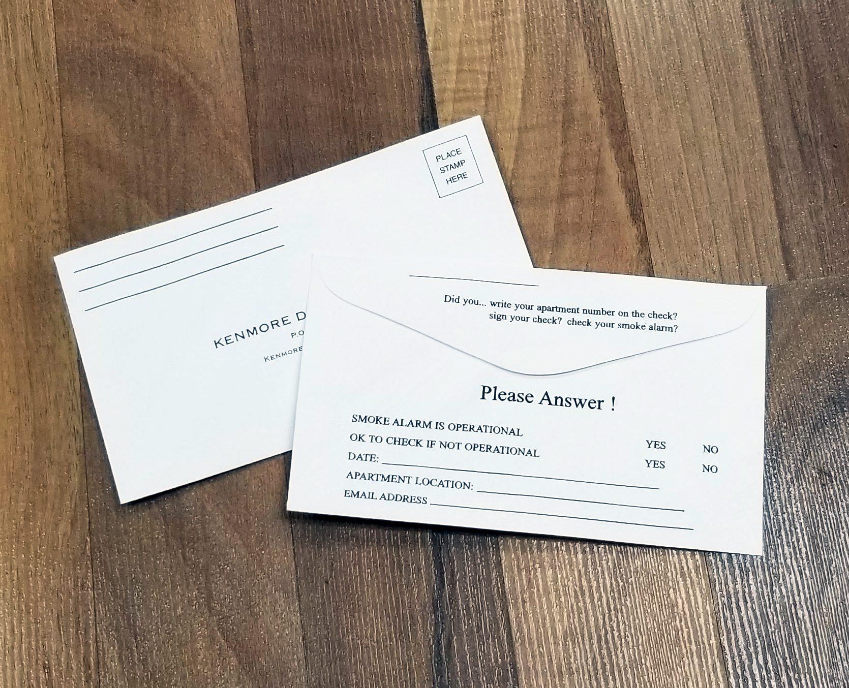 Kenmore Development Envelopes